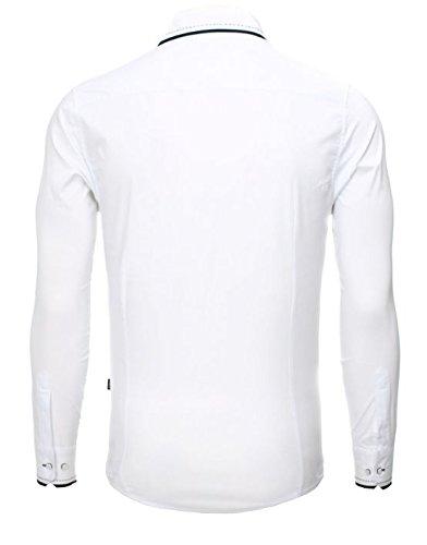 Carisma - Chemise manche longue homme Carisma 8-245 Blanc Blanc