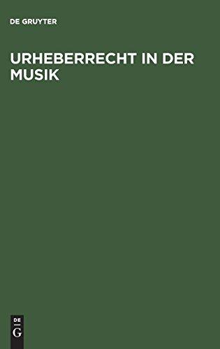 Urheberrecht in der Musik