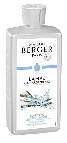 LAMPE BERGER Bois d' EAU Raumduft, Kunststoff, Transparent, 7.5 x 4.5 x 19 cm -
