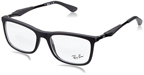 Ray-Ban Herren 0RX 7029 2077 53 Brillengestelle, Schwarz (Negro),