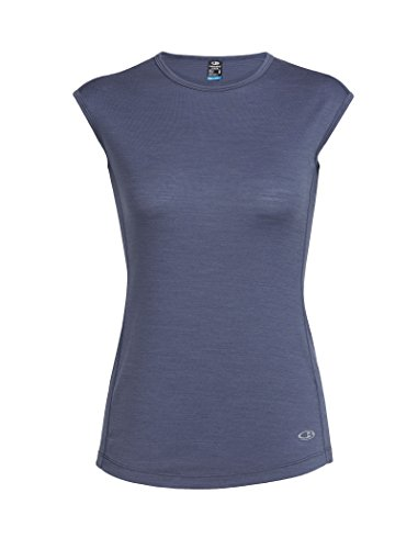 Icebreaker Damen Comet Lite Cap Sleeve leicht Tops L Gumtree (Sleeve Damen Shirt Cap)