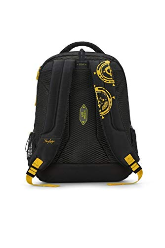 Best skybags backpack in India 2020 Skybags Figo 03 32 Ltrs Black Casual Backpack (FIGO 03) Image 4
