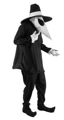 SPY Spy Vs. Spy Schwarzes Kostüm für Erwachsene