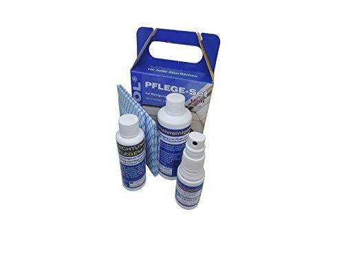 FENOSOL® Pflegeset Mini PVC weiss Kunststoffpflege für Fenster