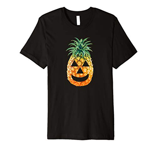 (Ananas Carving T-Shirt: Halloween 2017)