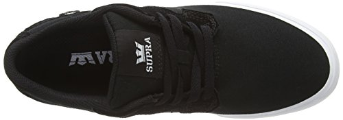 Supra Axle, Sneakers Basses mixte adulte Noir (BLACK - WHITE BLK)