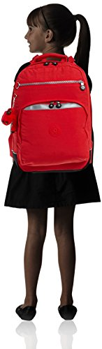 Kipling K13722 Sac à Dos pour Enfant Noir Cardinal Red Cardinal Red