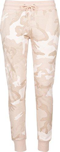 Urban Classics Ladies Camo Terry Pants, Pantalon de Sport Femme Mehrfarbig (Rose camo 01218)