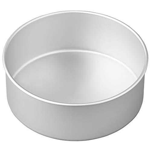Wilton Runde Kuchenform, Aluminium, 20,3 cm x 7,6 cm (Wilton Backen)