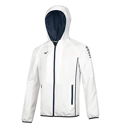 Mizuno Giacca Antivento Uomo Bianca - Men Mirco Jacket White - 32EE7002 (XL)