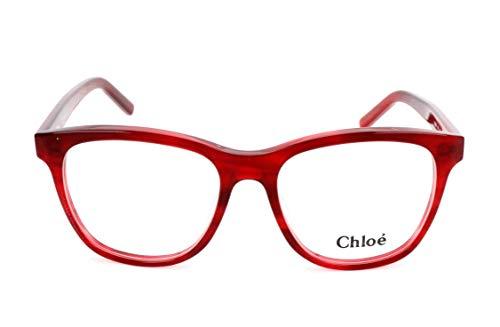 CHLOÉ CE2686 Brillengestelle CE2686 Chloe Rechteckig Brillengestelle 53, Rot