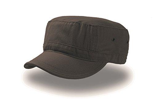 URBAN MARRONE taglia L XL (58 61cm) ARMY Cappello Berretto MILITARE CAP  CHAPEAUX 100% COTONE UNISEX 33d8dbcd76c0
