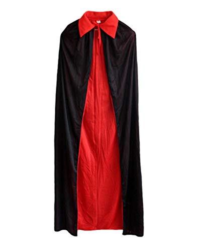 YiyiLai Halloween Party Kostüm Cosplay Kostüm Pirat,Vampir Umhang Karneval Fasching Kostüm Erwachsene