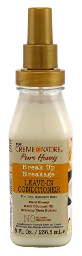 Creme of nature pure honey break up leave in conditioner 236.5 ml