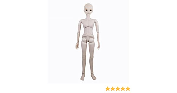 """M01A Naked Nude 1//3 SD Doll 56cm 22/"""" jointed doll Male BJD dolls Basic Makeup"""