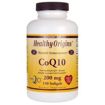 Coenzym Q10 (Kaneka Q10), 200 mg, 150 Kapseln - Gesunde Origins -