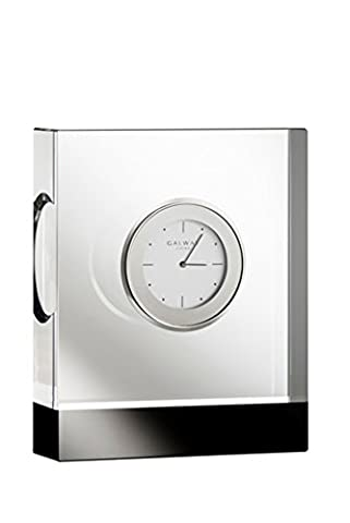 Galway Crystal Deco Rectangular Clock