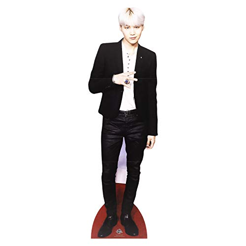 Star Cutouts cs747lifesize mit Desktop-Cutout, Min-yoon-gi Suga) BTS Bangtan Boys, mehrfarbig.