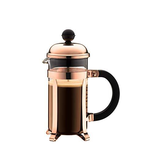 Bodum Chambord Kaffeebereiter, 0,35 L / 12 oz - Kupfer
