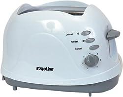 Euroline EL 810 750 w Pop Up Toaster