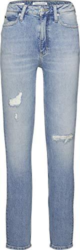 Calvin Klein CK Jeans Vaqueros para Mujer Azul Heavenly Blue 29W 32L