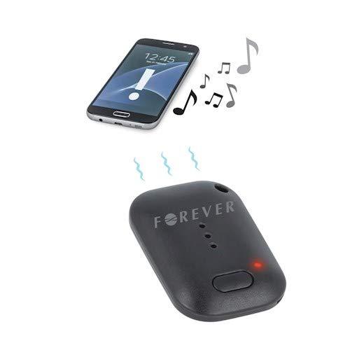 Forever Schlüsselfinder, Wireless Key Finder, Sender, Anhaenger für Schlussel und Handy, Mini Peilsender