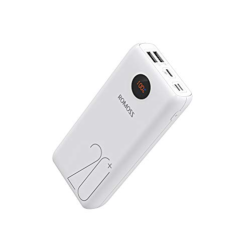 Romoss Powerbank 20000mah Tipo-C PD QC3.0