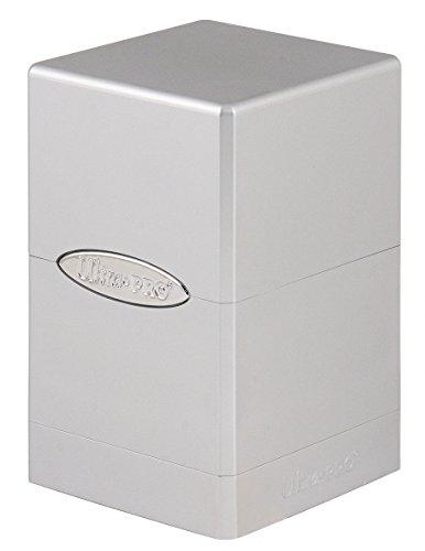 Ultra Pro 84850 - Metallic Silver Satin Tower, Sammelkarten Zubehör
