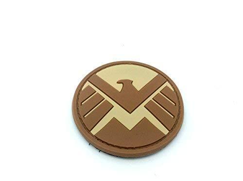 Patch Nation S.H.I.E.L.D. Ironman Team Shield Agent Braun PVC Airsoft Paintball Klett Emblem Abzeichen