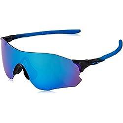 Oakley Evzero Path, Gafas de Sol para Hombre, Sapphire Fade, 38
