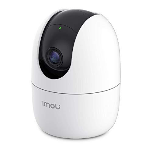 Imou Cámara de Vigilancia WiFi Interior 1080P, Cámara IP WiFi 1080P, Cámara Domo PTZ, Sirena de Seguridad, Detección de Sonidos Extraños, Máscara de Privacidad, Rastreo Inteligente