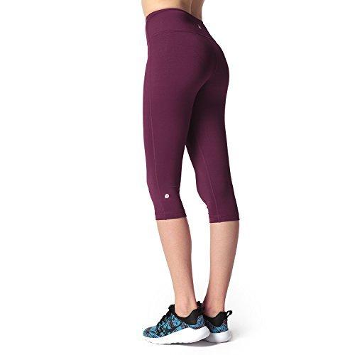 Lapasa Damen 3/4 Sport Leggings blickdicht, dehnbar und luftig, 3/4 Yoga Sporthose Abbildung 2