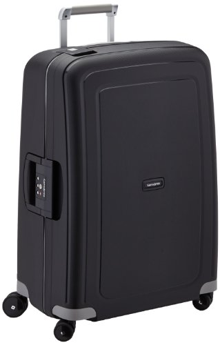 Samsonite S'Cure Spinner 69/25 Koffer, 69cm, 79 L, Black (25 Spinner)