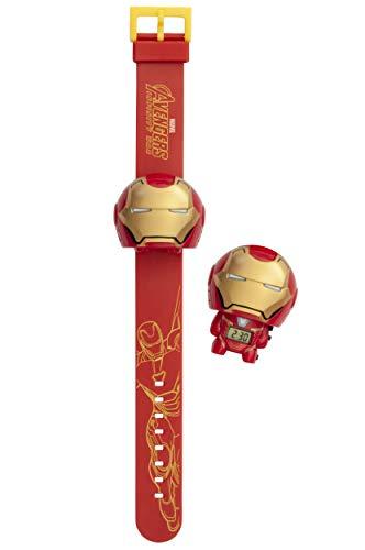 Orologio da polso retroilluminato per bambini BulbBotz Marvel 2021852 Avengers: Infinity War Iron Man