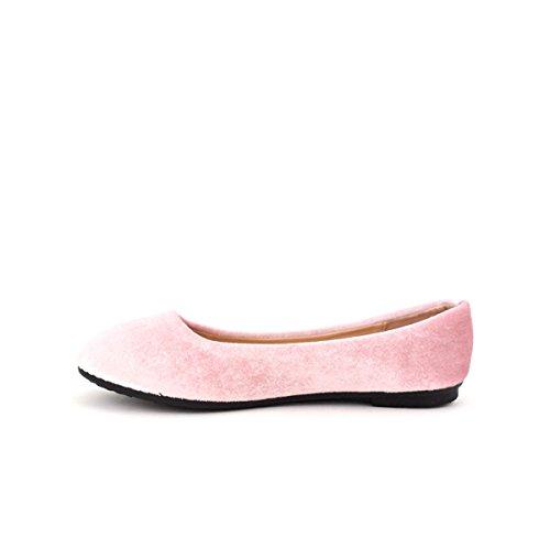 Xells Ballerina Scarpe Da Velluto Cendriyon Rosa Donna 7vS1wYRYg