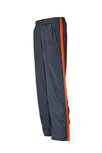 JAMES & NICHOLSON Pantaloni leggeri sportivi iron-grey/grenadine