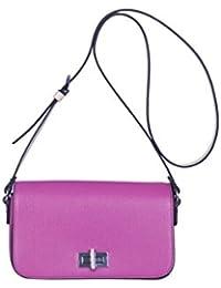 Kesslord Saffia Bicolor - Bolso al hombro de Otra Piel para mujer rosa Fushia / Nautrel - FSNT
