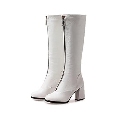Sandalette-DEDE Hochhackige Stiefel, Hochhackige Stiefel, Schuhe mit Hohen absätzen, Modische Grob betuchte Stiefel von Sandalette-DEDE bei Outdoor Shop