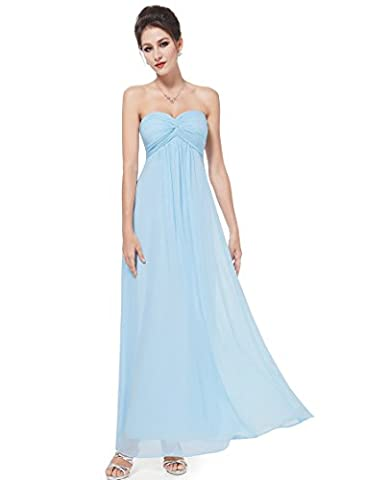HE08084BL08, Sky Blue, 8UK, Ever Pretty Maxi Prom Dresses For Teenagers 08084