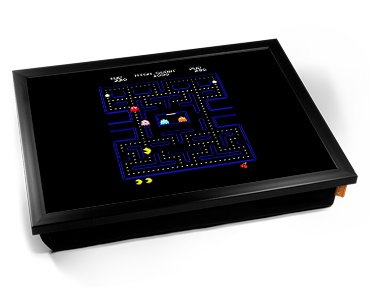 pac-man-game-cushion-lap-tray-vassoio-con-cuscino