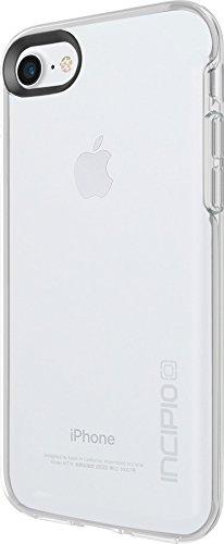 Incipio Haven Schutzhülle für Apple iPhone 7 / 8 nach US-Militärstandard in schwarz/grau [Extrem robust | Spezielle Struktur | Transparent | Hochglanz-Finish] - IPH-1472-BKC Transparent