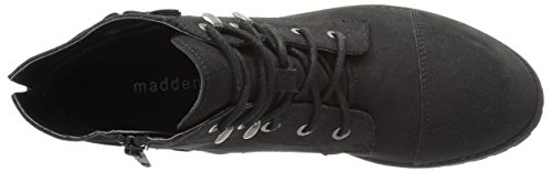 Madden Girl Ranceee Damen Rund Synthetik Mode-Stiefeletten Black