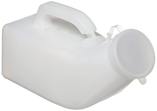 Patterson Medical Homecraft Economy - Orinatoio per uomini in plastica, Trasparente, 975 ml
