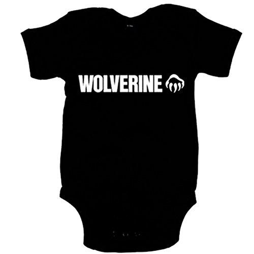 Body bebé Lobezno Wolverine - Negro, 12-18 meses