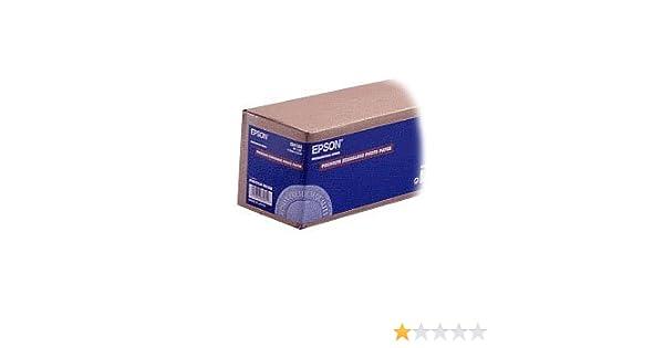 250 44 in rotoli da111,8cm x 30 Epson Carta fotografica semilucida Premium 5m.