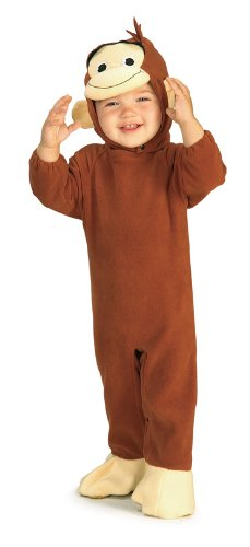 Curious George Baby Costume 6-12 (Curious Kostüme George)