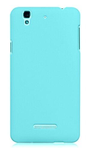 WOW Imagine(TM) Rubberised Matte Hard Case Back Cover For Micromax YU Yureka / Yureka Plus (Sky Blue)