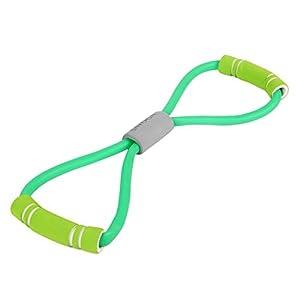 PoeHXtyy Widerstands Bänder Latex 8-förmige Rallye-Puller Yoga-Truhe Expander Fitness Geräte