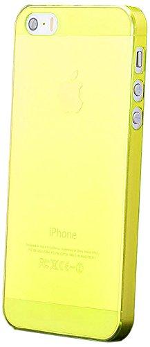 iCues Apple iPhone SE / 5S / 5    Ultra Slim Matt Case Türkis   [Display Schutzfolie Inklusive] Extra Leicht sehr Dünn Transparent Klarsichthülle Durchsichtig Klare Klarsicht Schutzhülle Hülle Cover S Grün
