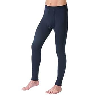 HERMKO 3540 Herren Lange Unterhosen mit Eingriff und